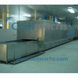 Tunnel Quick Freezing Machine/Air Blast Tunnel Quick Freezer for Seafood pictures & photos