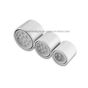 Surface Mounted LED Downlight with 3-12W pictures & photos