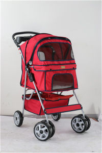 Customized Dog Carriers Outdoor Strong Large Pet Stroller pictures & photos