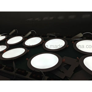 Round 24W Slim LED Panel Light for Embedded Mounted