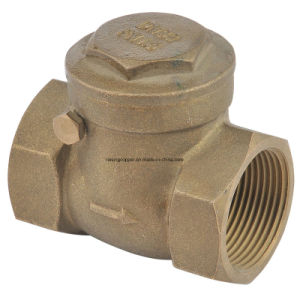 Forged Brass Swing Check Valve pictures & photos
