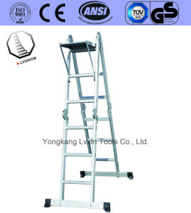 Easy to Use Aluminium Folding Ladder pictures & photos