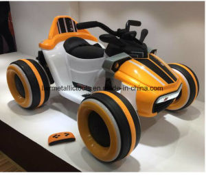 Four Wheel Electric Motorcycle for Kids pictures & photos
