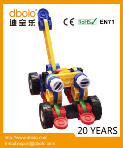 Educational Toy DIY Robot Deformed 3D Building Blocks Building Blocks for Kids pictures & photos
