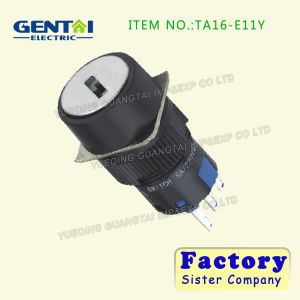 High Quality Mini Round Key Selectors Switch Indicator pictures & photos