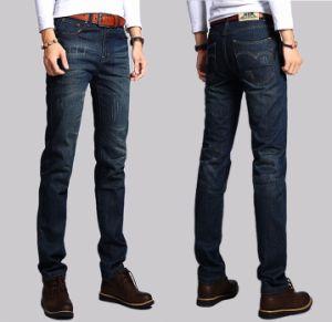 Good Quality Mens Indigo Slim Jeans pictures & photos