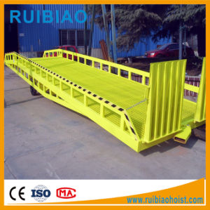 8ton 10ton 12 Ton Hydraulic Movable Loading and Unloading Yard Container Ramp pictures & photos