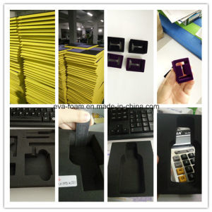 Die Cutting Inside Cushion Material Shock Resistance Large EVA Foam Sheets High Density EVA Foam Packaging