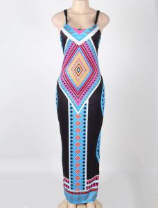 China Supplier New Style Sexy Long Dress pictures & photos