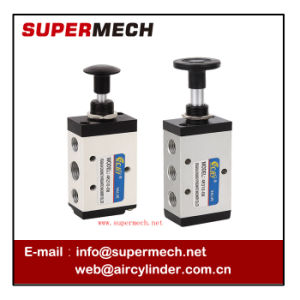 4r Series Pneumatic Control Hand Pull Valve Airtac Model pictures & photos