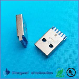 Vertical Female Type C Connectors USB3.1 Connector for Cable Hubs