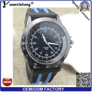 Yxl-186 New Arrival Rubber Men Watch Casual Military Hottest Wrist Watch Men′s Custom Desige OEM Promotional Watches pictures & photos