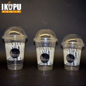 Disposable Plastic Cups for Cold Drink Salad Ice Cream with Lid 1oz-24oz pictures & photos