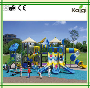 Outdoor Playground-Kaiqi Sea Sailing Outdoor Playground Colorful and Cool Large Multi Level Children′s Playground pictures & photos