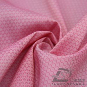 40d 310t Water & Wind-Resistant Down Jacket Woven Dobby Diamond Plaid Jacquard 57% Polyester 43% Nylon Blend-Weaving Intertexture Fabric (H056) pictures & photos