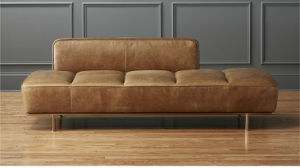 Hot Sale Royal Modern Leather Lounge with Iron Legs (CB-753) pictures & photos