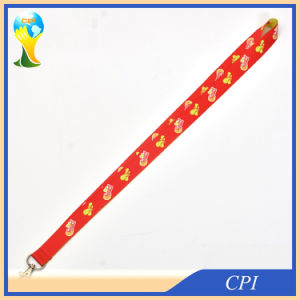 2 mm Sublimation Lanyard with Metal Clip pictures & photos