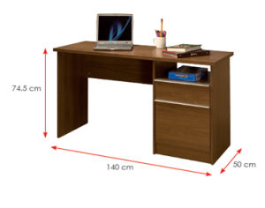 Modern School Library Lab Office Furniture Wooden Computer Desk (HX-DR084) pictures & photos