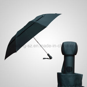 2 Section Automatic Double Layer Umbrella pictures & photos