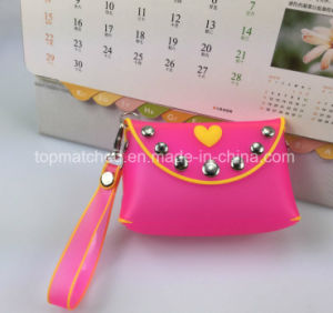 Ladies Fashion Silicone Coin Purse/Women Wallet pictures & photos