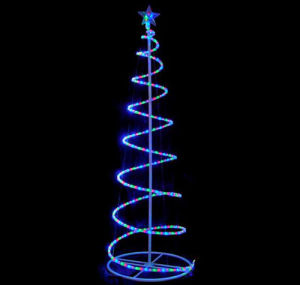 LED Outdoor Decoration Christmas Tree Light Spiral for Holiday Decoration pictures & photos