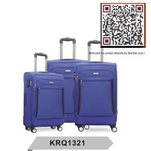 Cheap Soft Travel Trolley Luggage Factory (KRQ1321) pictures & photos
