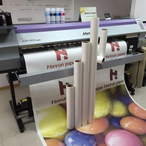 45GSM 50GSM Instant Dry Sublimation Transfer Paper Roll for Polyester