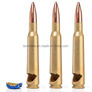 Custom Metal Gold 50 Caliber Bullet Shape Bottle Opener pictures & photos