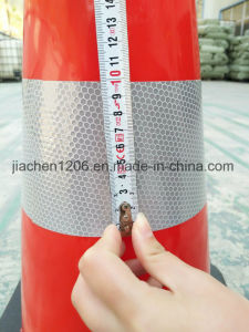 Jiachen Quality Competitive Advantage PVC 700mm Red/Orange Traffic Cone pictures & photos