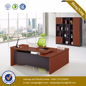 Modern Melamine Furniture Executive Table Manager Office Desk (HX-GD037E) pictures & photos