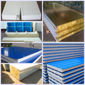 Rock Wool Sandwich Roof Wall Panel Cold Roll pictures & photos