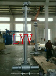 Steel Buried Underground Control Ball Valve