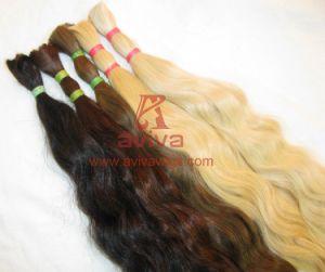 Unprocessed Natural Virgin Remy Human Hair Bulk pictures & photos