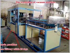 2017 Fully Automatic Disposable Plastic Vacuum Thermoforming Machine (HY-7101200) pictures & photos