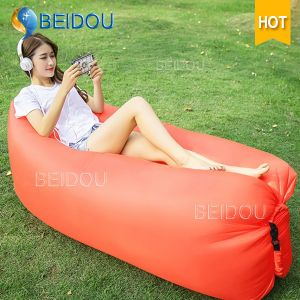 Outdoor Hammock Chair Inflatable Portable Nylon Yoga Camping Air Hammock