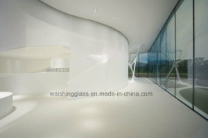 4-19mm Safety and Curved Frosted Toughened Glass for Building / Furniture pictures & photos