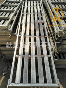 China Galvanized Metal Steel Scaffolding Plank pictures & photos