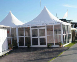 Pagoda Tent 6m X 6m with Glass Wall System