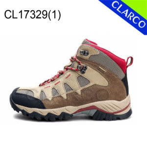 Leather Outdoor Safety Hiking Shoes with Waterproof pictures & photos