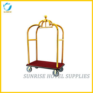 High Quality Luggage Trolley Baggage Cart for Hotel pictures & photos