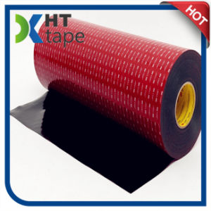 0.64mm Black Color 3m Vhb Tape 5925 Double Sided Tape pictures & photos