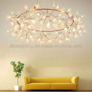 New Modern Plant Pendant Light LED Chandelier Lighting Fireflies Ceiling Lamp pictures & photos