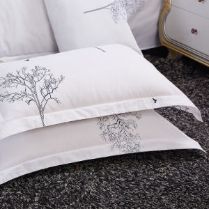 Eco Friendly Discount 60s Bed Sheet Set pictures & photos