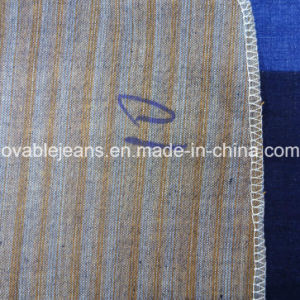 Dyed Yarn Stretch Denim Fabric (T231) pictures & photos