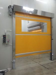 High Speed Rolling Shutter Automatic Door pictures & photos