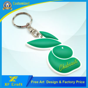 Factory Price Customized Fashion Key Tag/ PVC Rubber Key Holder/ Violin Key Chain for Promotion /Souvenir (XF-KC-P32) pictures & photos