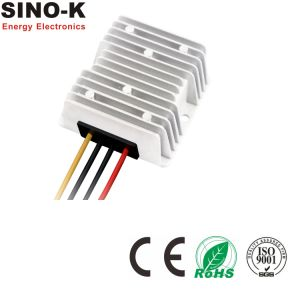 Waterproof DC-DC 24V to 13.8V 10A 138W Buck Power Converter pictures & photos