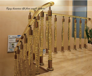Russia Hot Selling Wear-Resisting Degree Good Acrylic Handrail pictures & photos