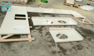 Artificial Stone Quartz, White Quartz, Artificial Stone pictures & photos