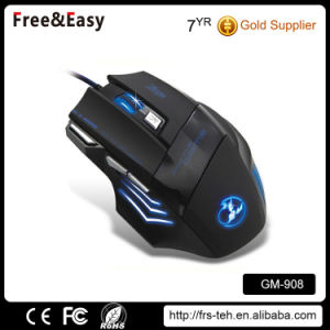 Computer Ergonomic Wired Backlit Drivers USB 7D Gaming Mouse pictures & photos
